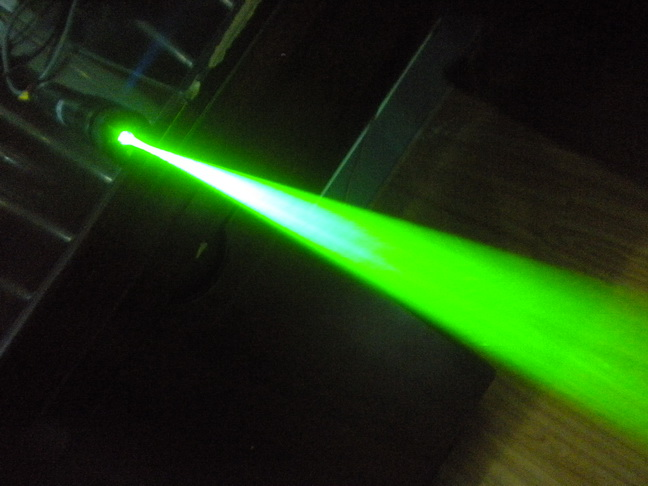 High Power Laser Dazzler