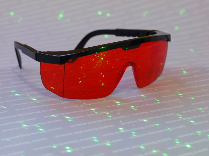 532nm Green Laser Goggle Glass